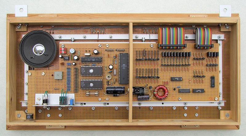 Elektronik-Projekte - Multifunktionsuhr