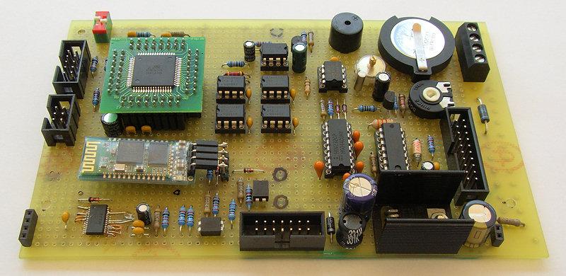 elektronik projekte temperatur messsystem anzeigemodul 2a. Black Bedroom Furniture Sets. Home Design Ideas